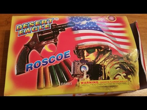 DESERT EAGLE ROSCOE  (FIREWORK GUN) 4K streaming vf