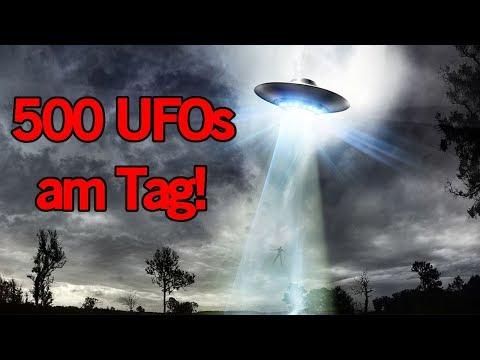 500 UFO SICHTUNGEN TÄGLICH - 10 gruselige & unheimliche Fakten | MythenAkte