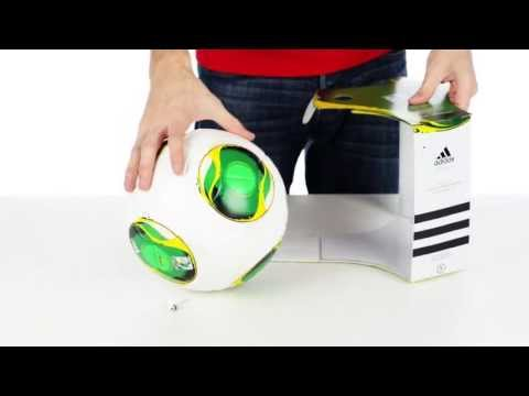 Adidas 2013 Confederations Cup Match Soccer Ball - Unboxing