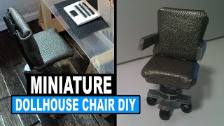 Doll Crafts | How To Make A Miniature Doll Chair