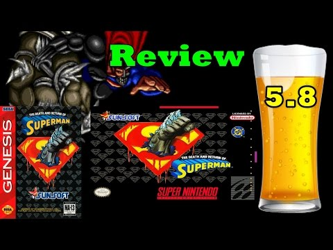 DBPG: The Death and Return of Superman Review (SNES/Genesis)