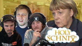 HOLY SCHNITT - Telefonkonferenz mit Frau Merkel (und Unge, MiiMii und TANZVERBOT)