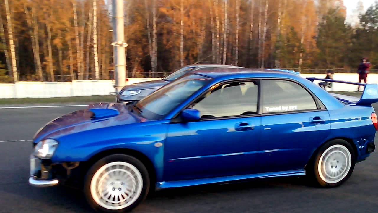 Saab 9 5 By Jet Vs Subaru Impreza Wrx Sti
