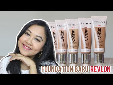 Revlon Photoready Candid Foundation Review & Swatch Untuk Kulit Kering - YouTube