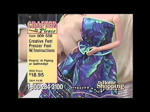 Creative Feet on the Home Shopping Network in 1997