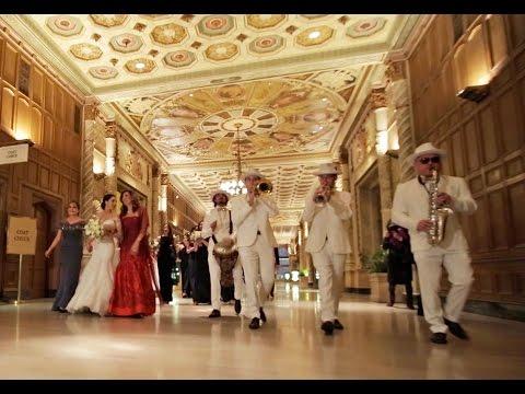 ELI's BAND - Tish / Bedekken beautiful Bride & Groom entrance | Jewish tradition