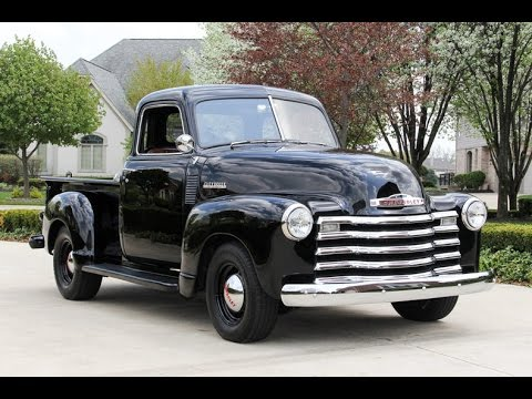 1950 chevrolet 5 window pickup for sale youtube. Black Bedroom Furniture Sets. Home Design Ideas