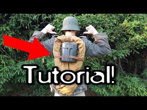 World War 1 German Assault Pack (Sturmgepäck) Tutorial