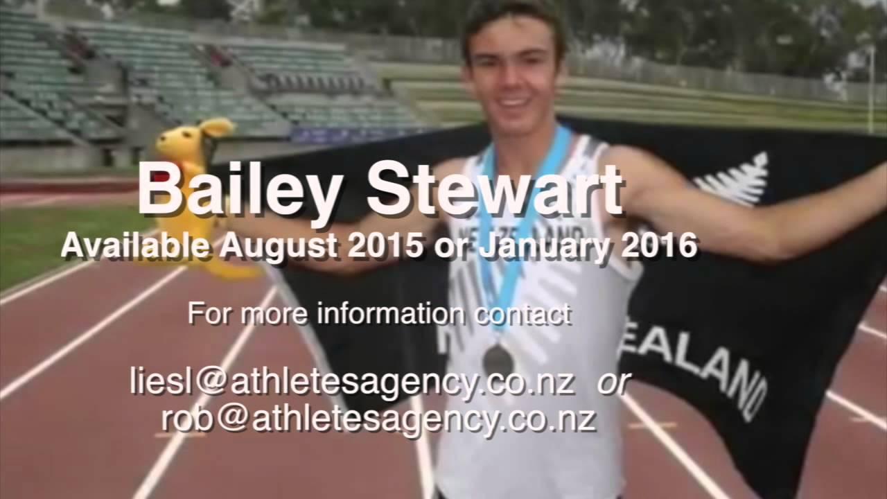 Bailey Stewart - 2015 US College Track