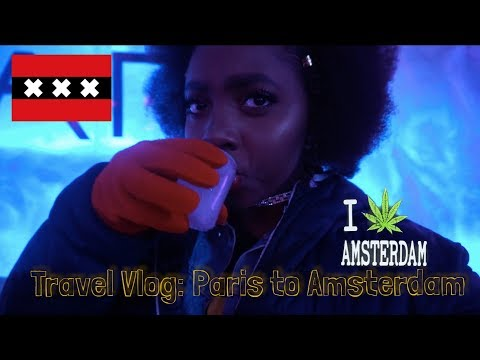 Just Vlog #6: WEED COUNTRY, AMSTERDAM NETHERLANDS l TRAVEL VLOG