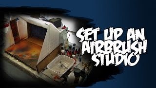 How To Set Up An Miniature Airbrush Studio At Home Models