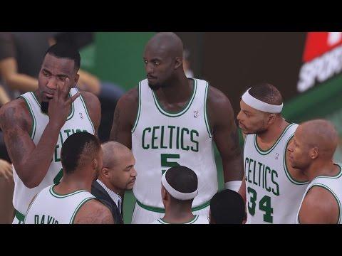 NBA 2K16 PS4 Play Now - The 08 Boston Celtics!