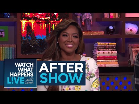 After : Does Kenya Moore Think Marlo Hampton Deserves A Peach?  WWHL