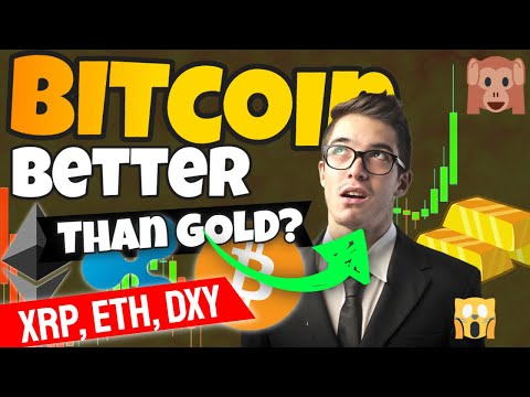 Bitcoin Will Out-Perform Gold Through The Financial Crisis (Cryptocurrency News) ETH, XRP, DXY