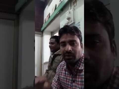 "Educationlist Bharat Gaur at Mission Hospital sardarshahar ""post card revolution"