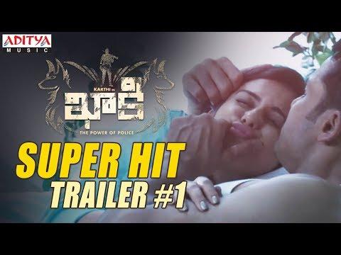 Khakee Movie Super Hit Trailer #1 || Khakee Telugu Movie || Karthi, Rakul Preet || Ghibran
