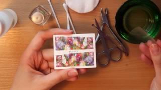 видео Наклейки на ногти: водные, переводные, фотодизайн для ногтей