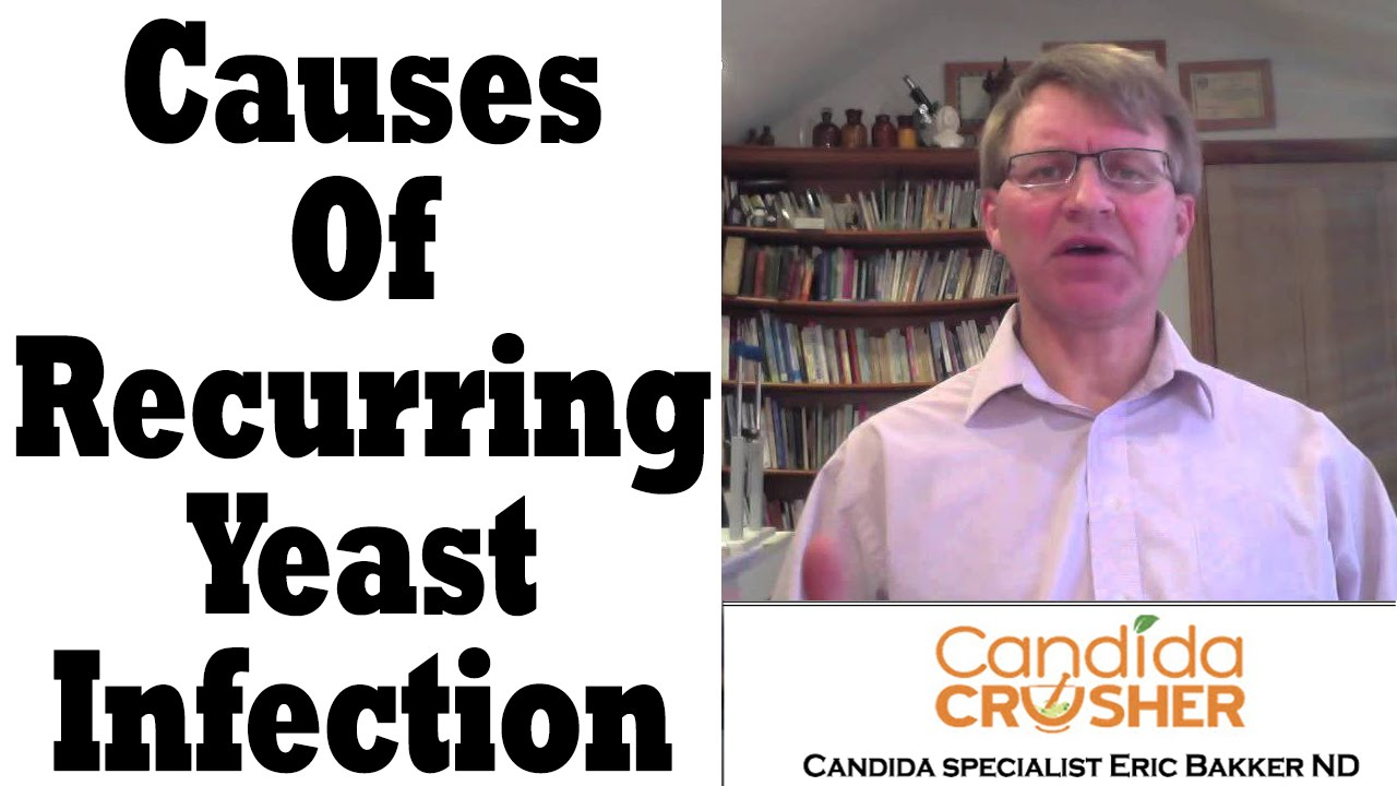 how to get rid of recurring yeast infections
