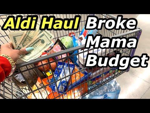 Broke Mama Budget 1/4/20 | Aldi In-Store Haul | SHOP WITH ME