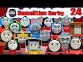 Sodor Demolition Derby 24 | Thomas and Friends Trackmaster | Last Engine Standing
