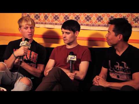 """B-Sides On-Air: Interview - The Drums Talk """"Encyclopedia"""", Learning New Languages"""