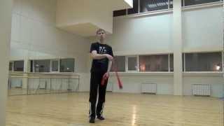 Видео уроки поинга: Двухбитная восьмерка - 2 Beat Weave (Forward)