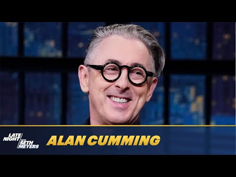 Alan Cumming Tells a Hilarious Story about Kristin Chenoweth and a Basket of Muffins