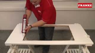 franke fragranite instructions how to install a fragranite inset sink