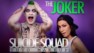 THE JOKER Suicide Squad (ft. JimmyFaitL'Con) - Makeup Tutorial
