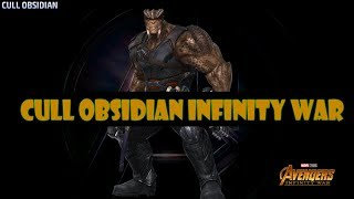 [Marvel Future Fight] Cull Obsidian Infinity War | Uniforme Review