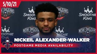 Nickeil Alexander-Walker on team confidence despite loss | Pelicans-Grizzlies Postgame Interviews