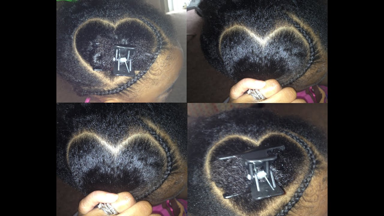 Tnc 26 ™� How To Part A Heart For Fun Cute Hairstyles For