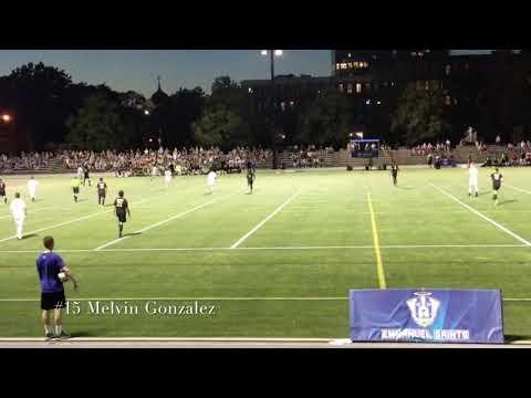 2018 Newbury College Men's Soccer #15 Melvin Gonzalez '22