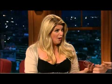 Kirstie Alley on Craig Ferguson Full Interview