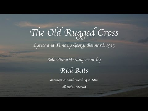 The Old Rugged Cross - Lyrics with Piano