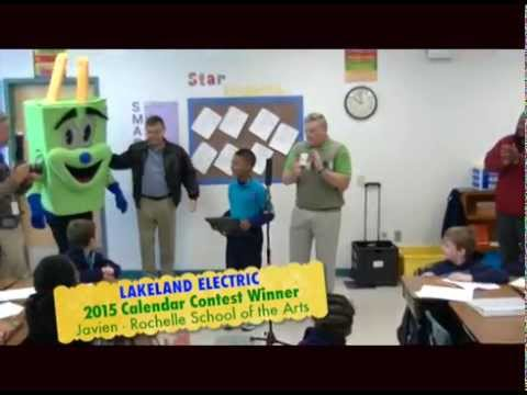 Lakeland Electric 2015 Calendar Contest Winner - Rochelle School of the Arts
