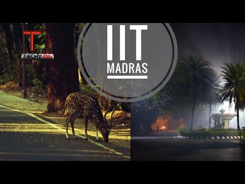 IIT Madras Campus - Complete Campus Tour 2018