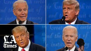 Analysis: Comparing Trump and Biden's debate on race, immigration and climate change