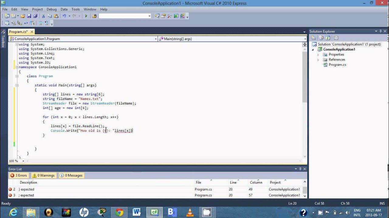 fprintf to write array to text file