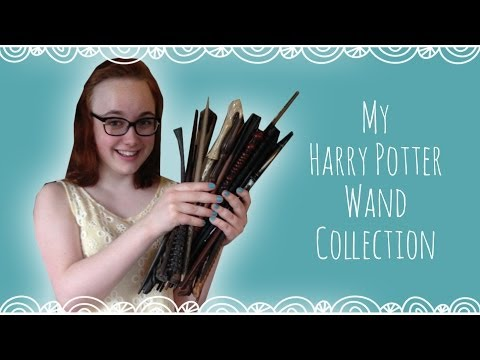 My Harry Potter Wand Collection