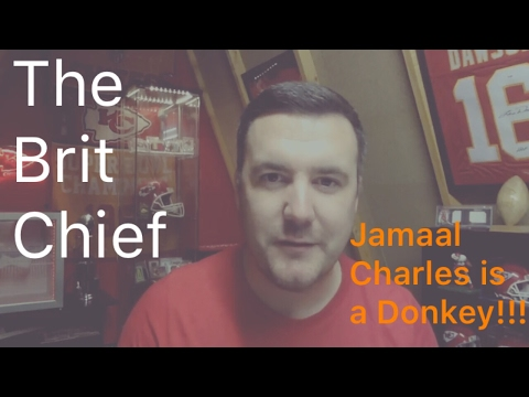 Jamaal Charles is a Donkey - The Brit Chief