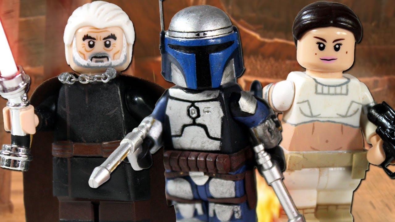 Update Custom Lego Revenge Of The Sith Minifigures Youtube