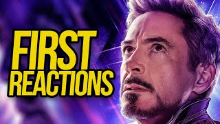 Avengers: Endgame First Reactions & Discussion [SPOILERS]