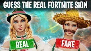 🎮 Try to guess the real Fortnite skin #1. Ultimate Quiz.