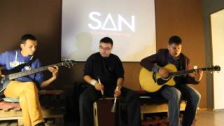 The Almonds - Так сложно (SAN: Saturday AmusicA Night, 07.11.2015)