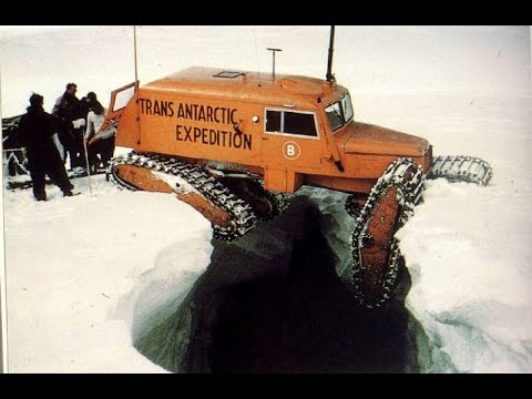 Trans Antarctic Expedition on Tucker Sno-cat I Peter Fuchs I Nikson Overland