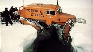 Peter Fuchs Trans Antarctic Expedition on Tucker Sno-cat
