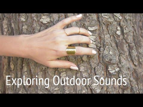 ASMR * Theme: Outdoor Sounds * Tapping & Scratching * No Talking * ASMRVilla
