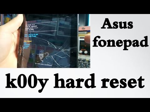 Asus fonepad 7 k00y hard reset