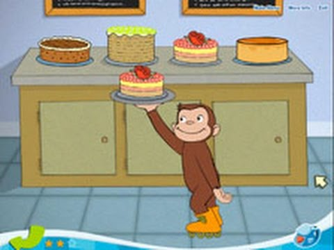 Curious George - Busy Bakery GamePlay-Full Episodes Educational Cartoon-HD